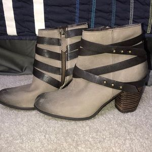 BP Light Brown Booties